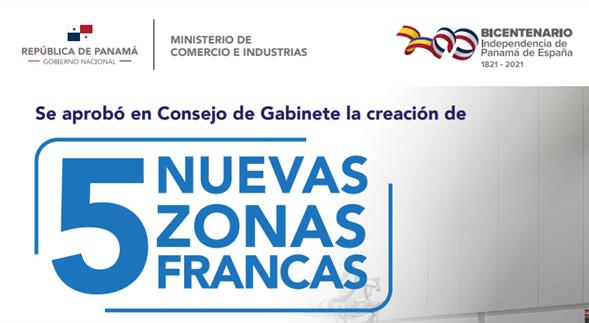 5 Nuevas Zonas Francas en Panamá