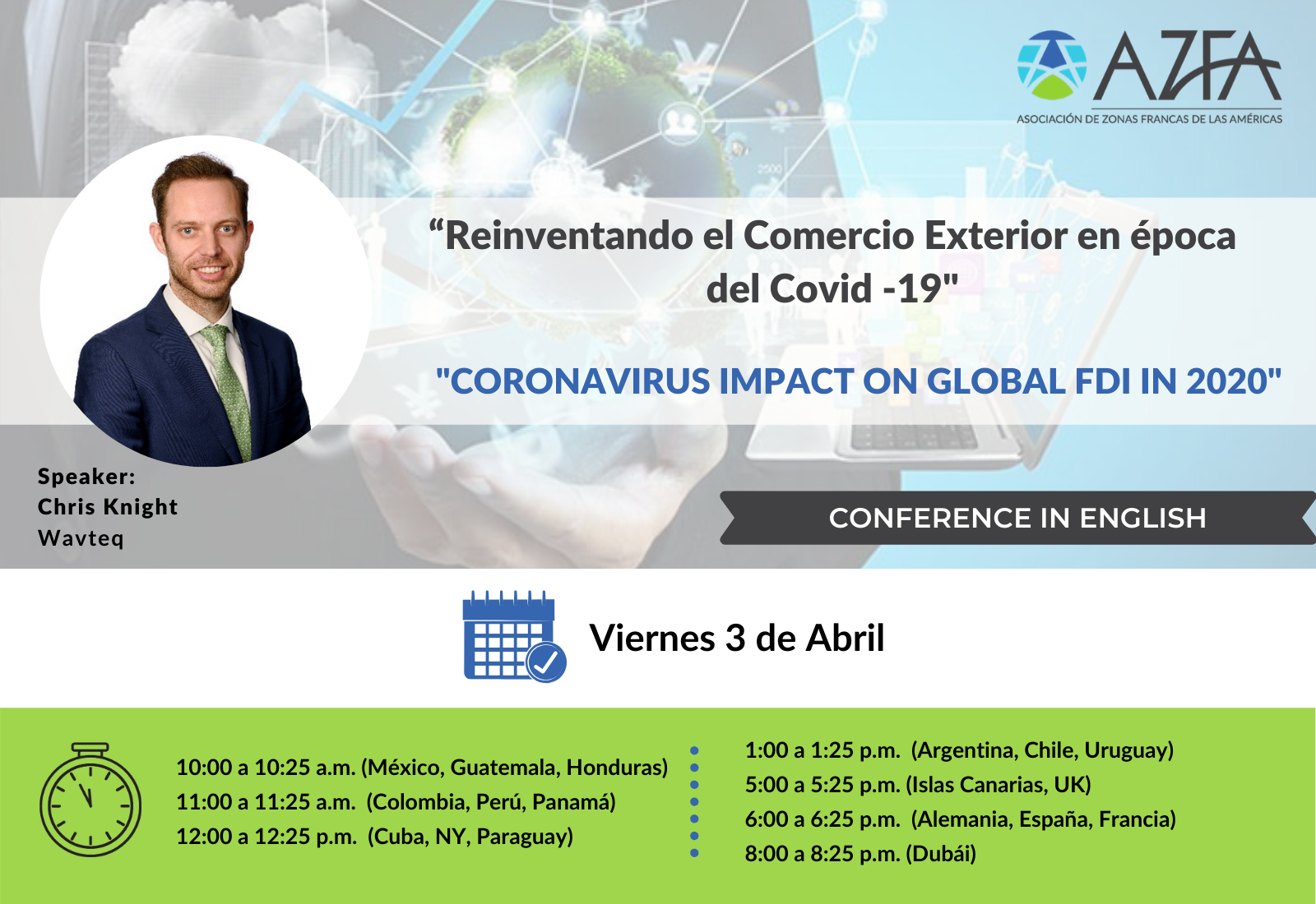 Virtual Trade Summit   Coronavirus impact on global FDI 2020