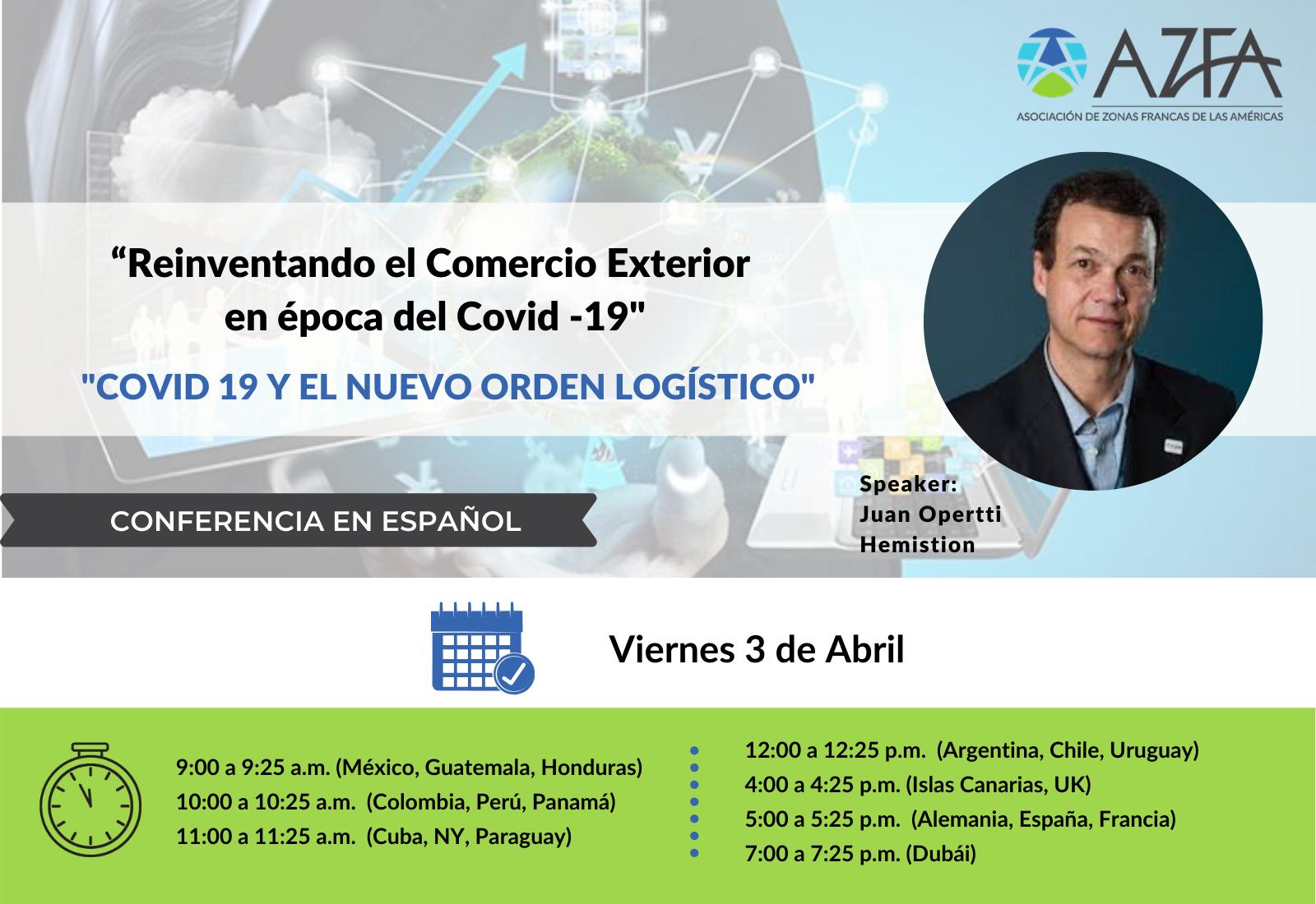 Virtual Trade Summit   Covid19 y el nuevo orden logístico