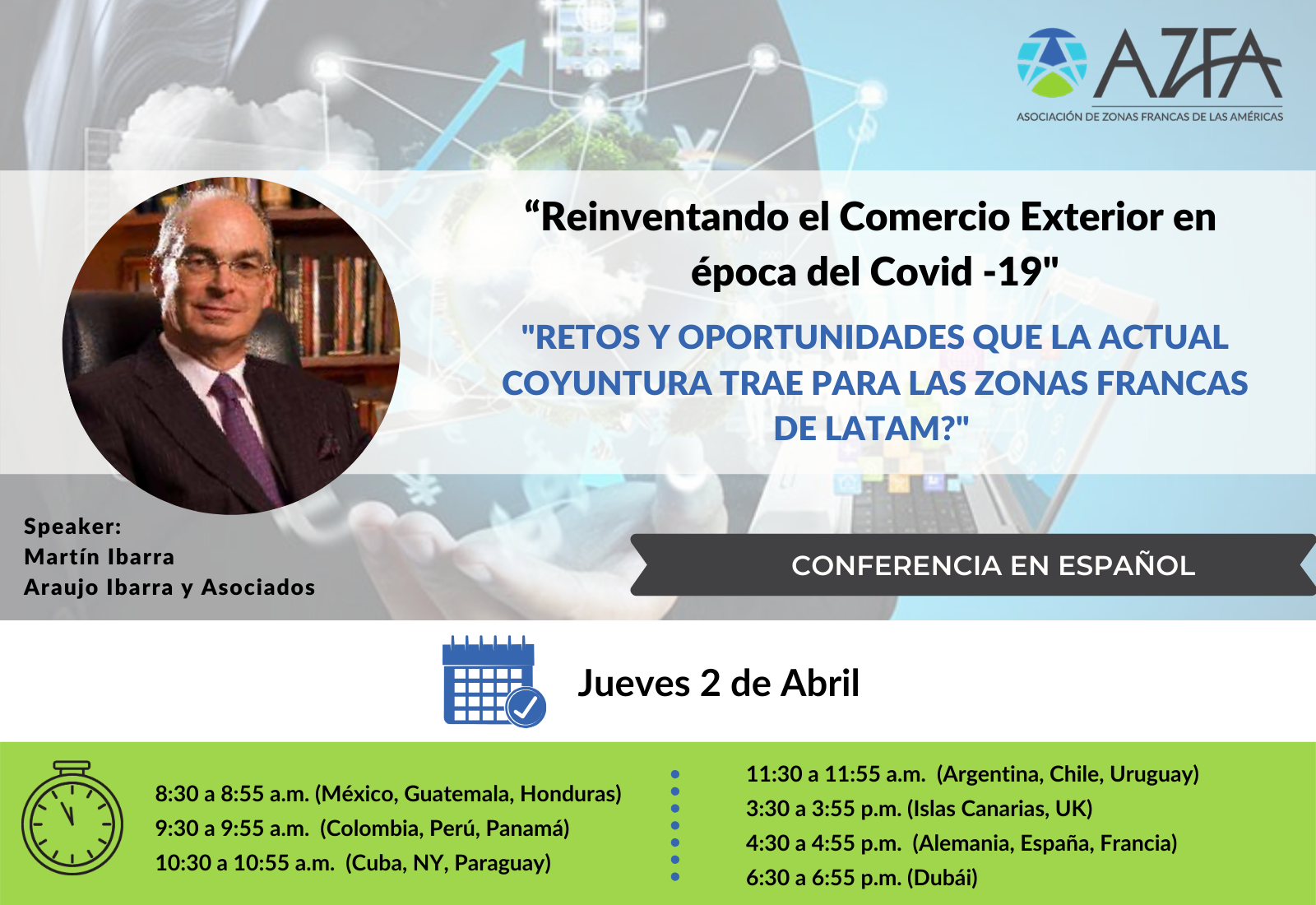 Virtual Trade Summit   Retos y oportunidades que la actual coyuntura trae para las Zonas Francas de LATAM