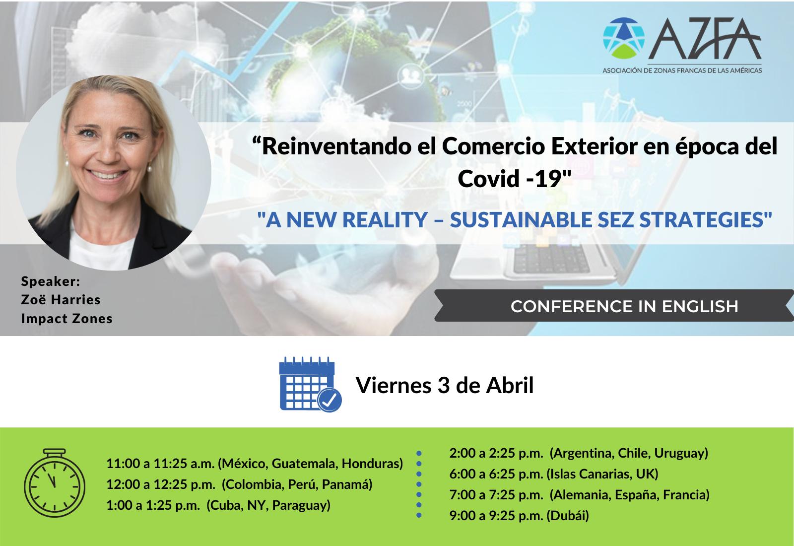 Virtual Trade Summit   New Reality - Sustainable SEZ Strategies