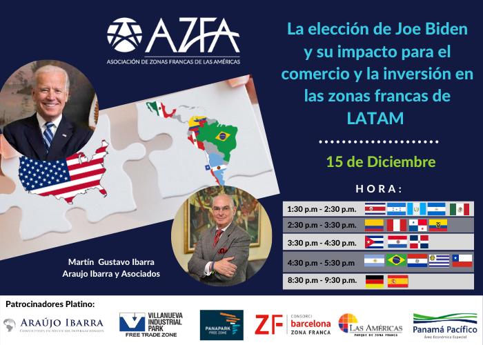 La elección de Joe Biden y su impacto para el comercio y la inversión en las zonas francas de LATAM