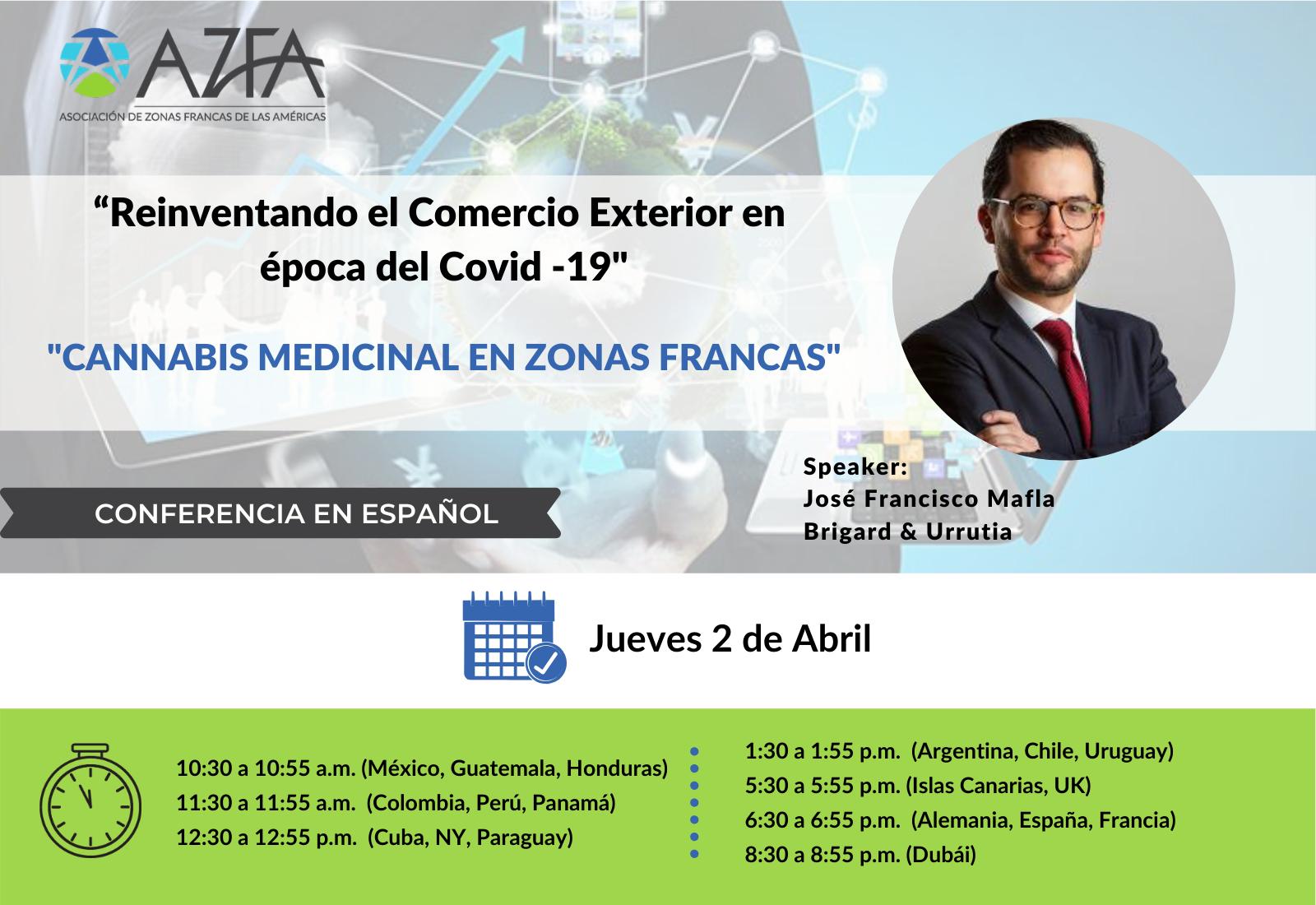Virtual Trade Summit | Cannabis medicinal en Zonas Francas